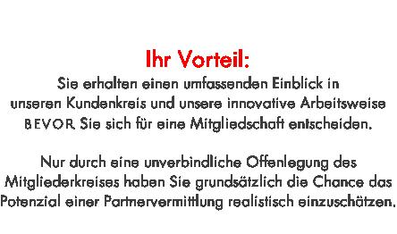 Exklusiver partnerkreis partnervermittlung frankfurt